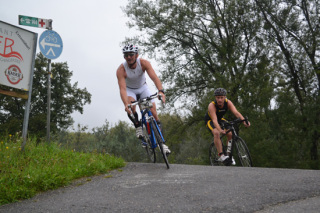 Herbst-Triathlon Linz 2014